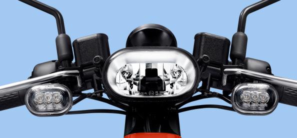 LED 膠囊造型頭燈