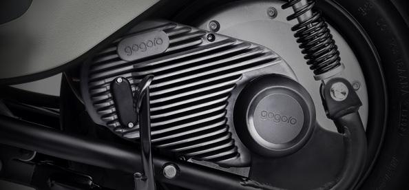 GH1 整合式鋁合金輪轂馬達